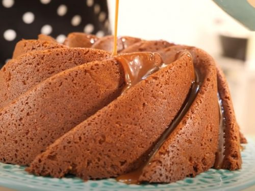 spice cake with ginger glaze recipe
