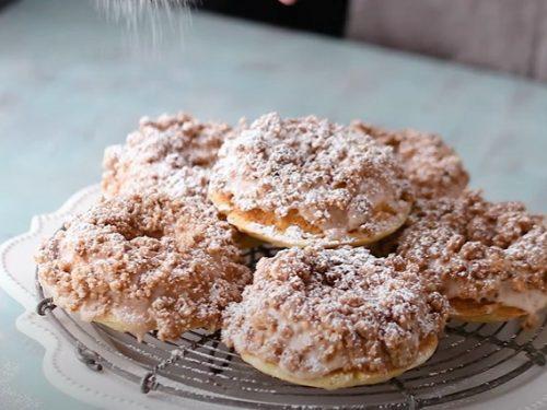 crumb cake donuts recipe