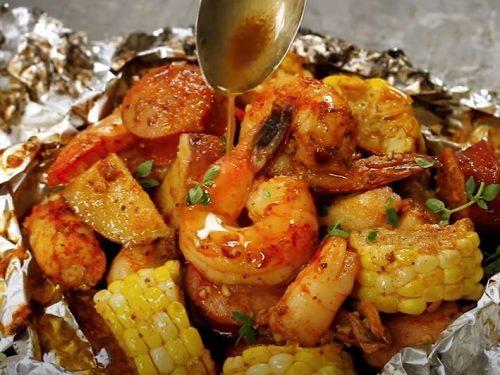easy seafood packs recipe
