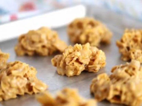 peanut butter cornflake cookies recipe