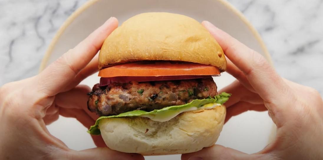 herbed turkey burger recipe