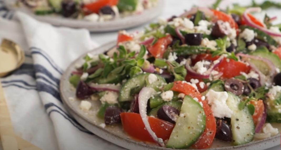 chopped feta salad recipe