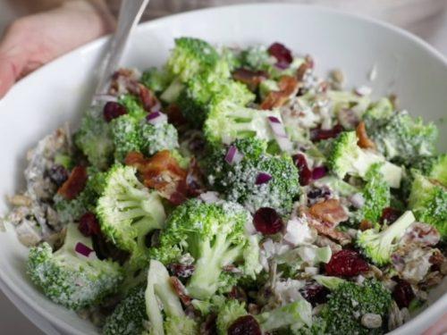 broccoli cashew salad recipe