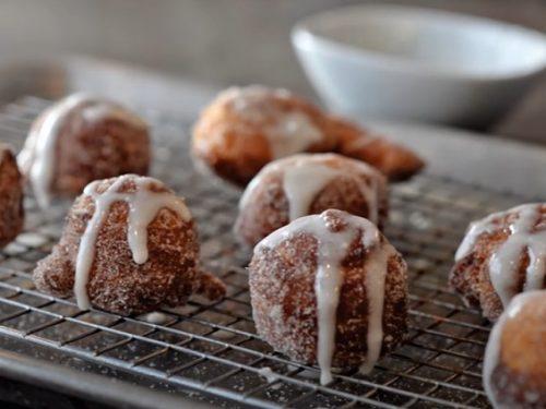 cinnamon roll donuts recipe
