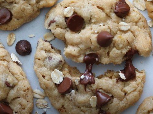butterfinger peanut butter oatmeal cookies recipe