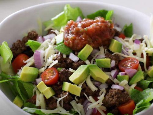 savory taco salad recipe