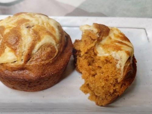 cream cheese pumpkin muffins recipe