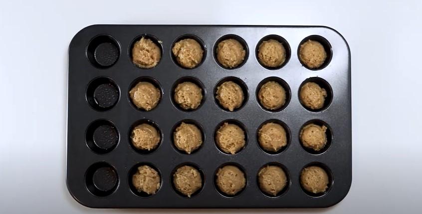 mini applesauce muffins recipe