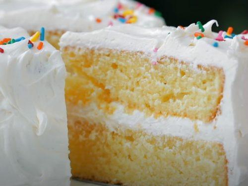 vanilla buttermilk layer cake recipe