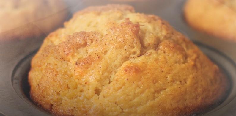 eggnog rum muffins recipe
