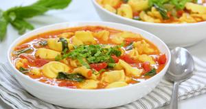 5-Ingredient Tortellini Soup Recipe