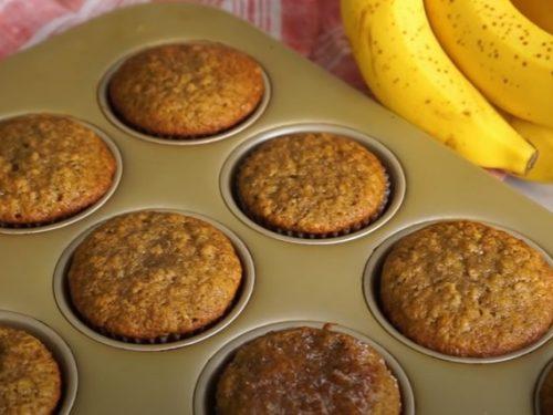 banana bran muffins recipe