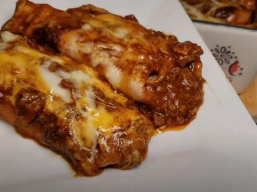 ground beef enchiladas recipe