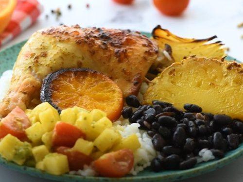 baked cuban mojo chicken recipe