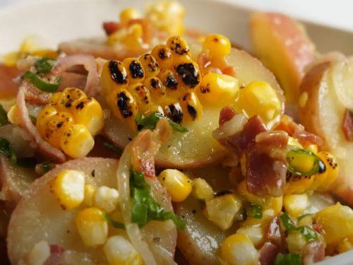 bacon and potato salad recipe