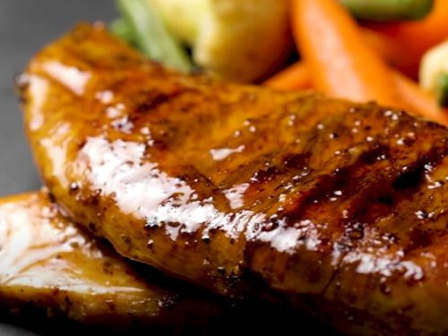grilled chicken breasts with grapefruit glaze recipe