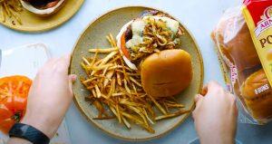 Spicy Blue Cheese Hamburgers Recipe