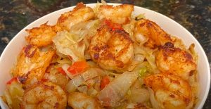 Asian Shrimp and Cabbage Salad Recipe