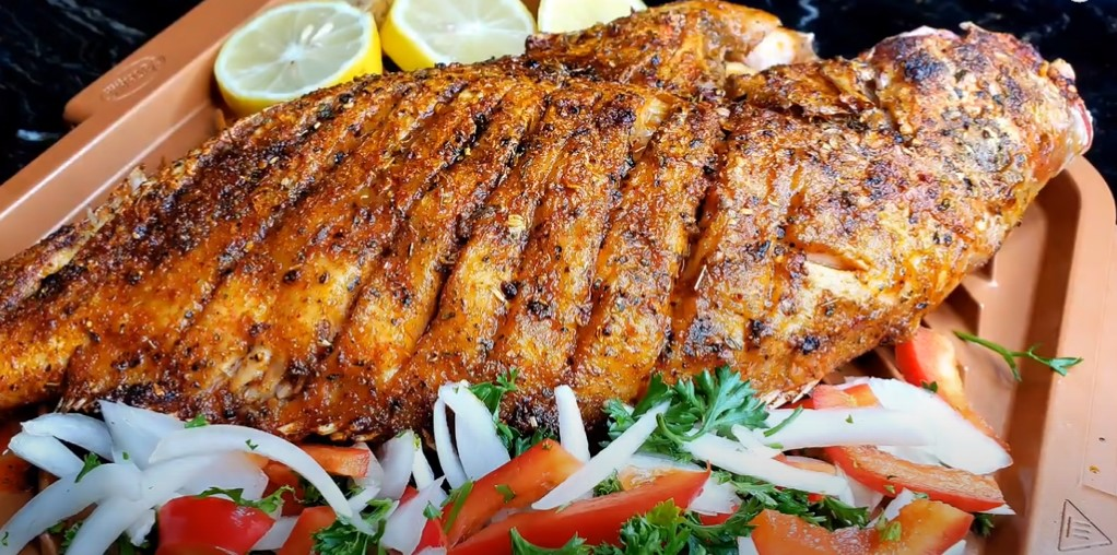 grilled whole snapper recipe