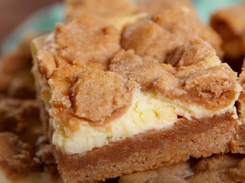 snickerdoodle bars recipe