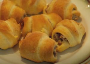 Sausage Cream Cheese Crescent Rolls Recipe