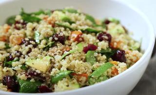 Spinach and Sweet Potato Quinoa Bowl Recipe