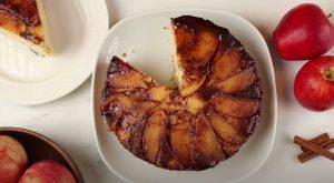 Apple-Cinnamon Upside-Down Cake Recipe