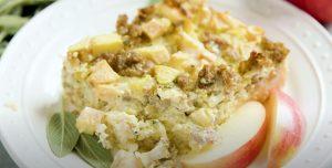 Apple Sausage Breakfast Casserole Recipe