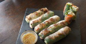 Asian Veggie Patties Spring Rolls Recipe