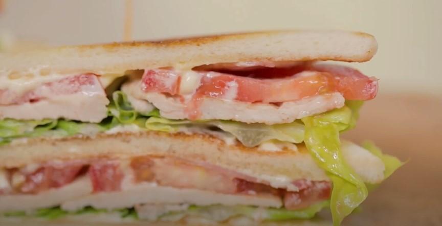 Bacon and Turkey Club Sandwich Recipe
