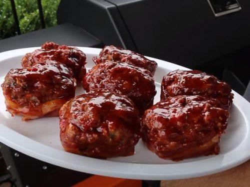 bbq meatloaf bites recipe