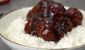 BBQ Turkey Meatballs with Bacon Recipe