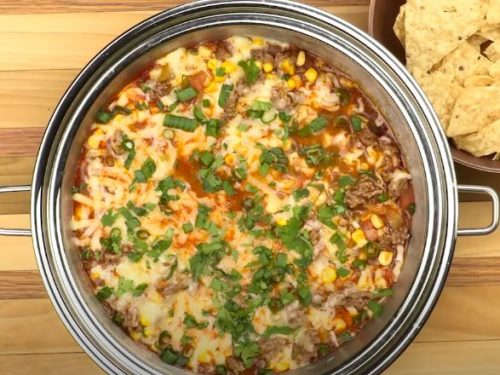 beefy enchilada dip recipe