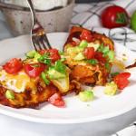 black bean sweet potato enchiladas recipe