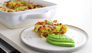 Breakfast Casserole with Sausage and Eggs Recipe