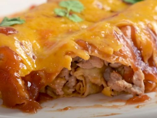 Breakfast Enchilada Casserole Recipe