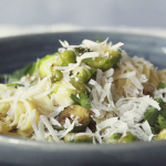 brussels sprout and parmesan pasta recipe