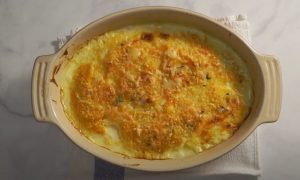 Butternut Squash-Polenta Gratin Recipe