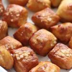 buttery soft pretzel bites recipe