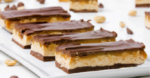 Caramel Snickers 7 Layer Bars Recipe
