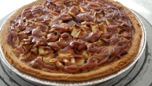 Caramelized Apple-Pecan Pie with Calvados Recipe
