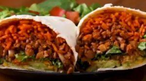 Cauliflower Walnut Burritos Recipe