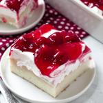 cherry jello coke poke cake recipe