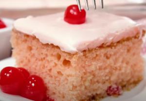 Cherry Sheet Cake Recipe