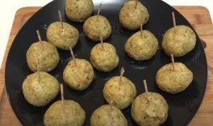 Chicken Pesto Meatballs Recipe