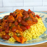 chicken with rice and beans recipe