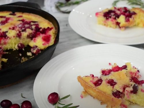 cranberry cobbler recipe
