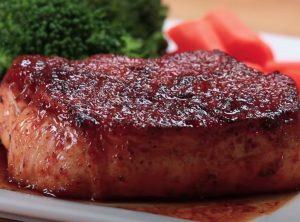 Cranberry-Orange Glazed Pork Chops Recipe