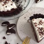 creamy chocolate cookie pie recipe