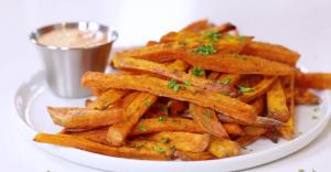 Crispy Baked Sweet Potato Fries Recipe